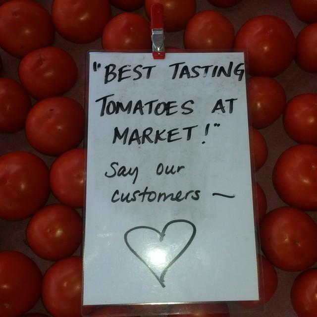 best tasting tomatoes