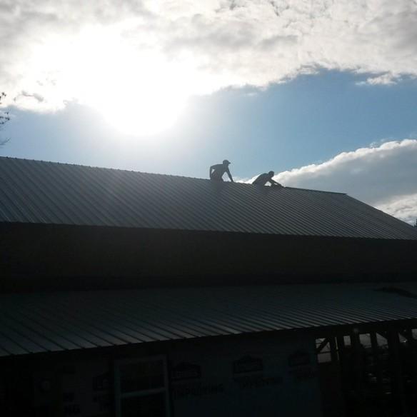 barn roof ridge cap