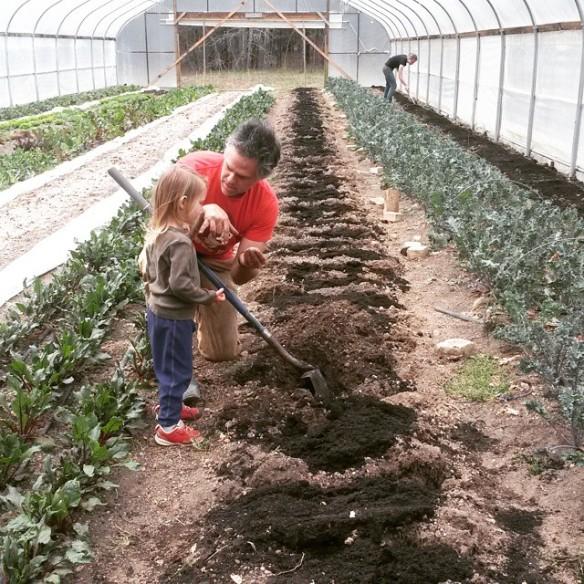 high tunnel soil lesson