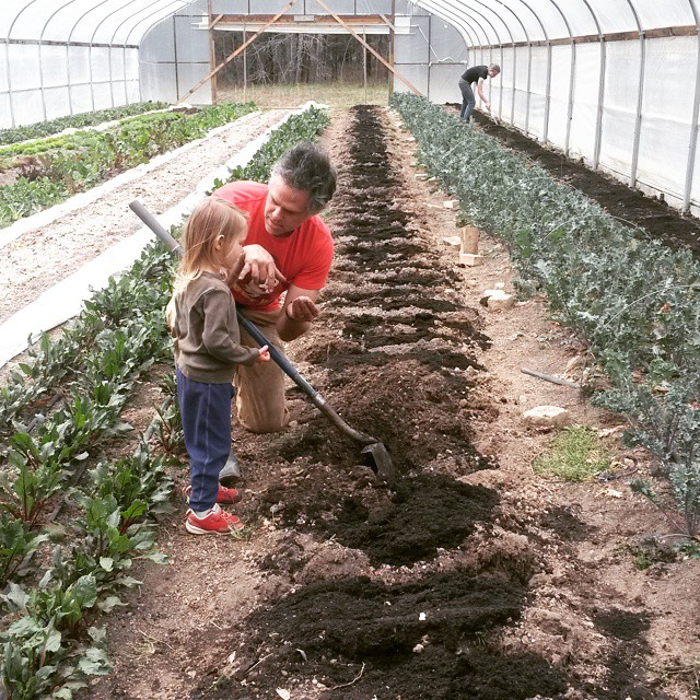 high tunnel soil lesson