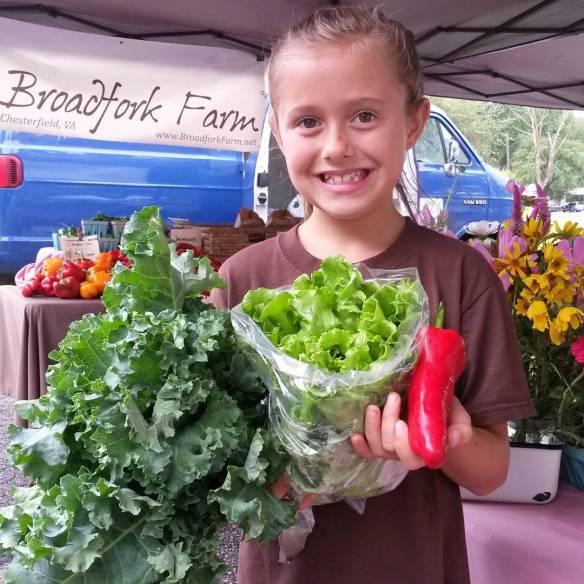 sylvie market veggies