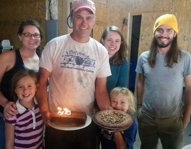 dan's birthday farm crew