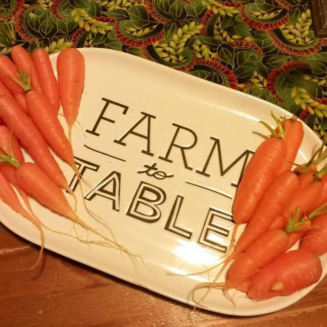 carrots farm to table