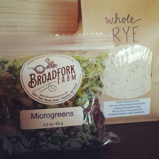rye flour micros