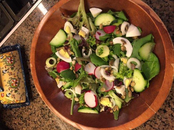 arugula salad mb twitter