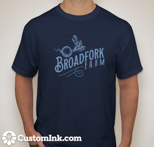 short sleeve navy tshirt